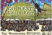 Go West! Craft Fest April 25 '15 / Held in Philadelphia on April 15 at 4000 Woodland Ave Go West! is a craft event featuring over 100 handmade artists. Here is a curated sample of what you will find there!