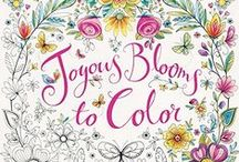 Joyous Blooms to color - Eleri Fowler / A gorgeous gallery of all your beautiful work xx