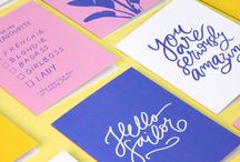 Shop Melanie Johnsson / Sunny Delight Collection - Mélanie Johnsson http://www.shopmelaniejohnsson.com #colours #sunnydelight #stationery #colourpalette #yellow #sunshine #sun #sunny #illustration #design #pattern #brushlettering #lettering #tropical #plants