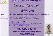 Domestic Violence / DOMESTIC VIOLENCE AWARENESS- FIRST STEP RESPECT.