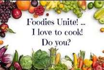 Foodies Unite! ... I love to cook! Do you? / What could be better ... friends, cooking together, sharing a meal, laughing, stories, fabulous tastes and aromas!  I have two co-cooking gatherings with friends every few months. We always share our recipes at the end of every meal. What are your favorites? Add to the board. I'll share mine as well. Enjoy!  If you want to be added to the group, send me an e-mail with your Pinterest URL and I'll add you as a collaborator.  Judith@briles.com then you can invite your friends.