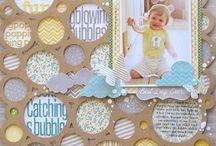 scrapb00k  page ideeeeeeeaas / by Deb Hollman