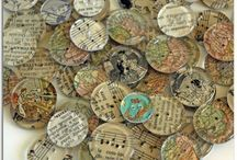 Altered art...paper,etc. MY FAVS / by Deb Hollman