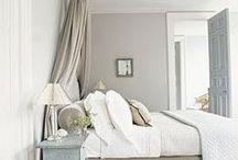 50 shades of grey walls / by Rachel Chamberlain