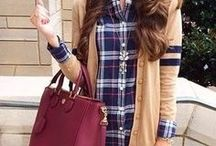 // Style: Plaid / Outfit ideas for plaid shirts!