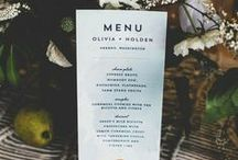 Wedding # Menu