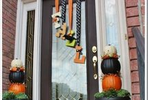 Halloween / fall decorations