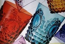 Plateorama / Plates, glass, bottles, dish, china. / by Maria A.