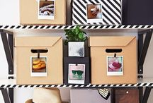 Home: Organizing and storage