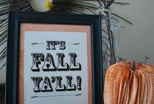 Fall Ideas / by Linda Davis