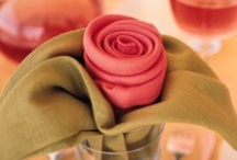 Tablescapes / Get ideas and tips for beautifully decorating your table, from folding elegant napkins to creating sensational centerpieces.