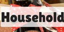 Around the house / Household management - tip and tricks for household chores, cleaning, laundry and more! Get your home organized and save time!