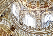 Palace Halls, Walls, Ceilings and Floors