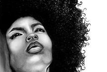 """FRO'zen Treats! / Women of color found freedom from the hot comb. and the Lyes in thier hair. That's when """"Fly"""" became Chic! From Angela Davis to the Jackson 5 to Soul Train, the  Sylvers, Pam Grier, erika Badu and the Esparanza Spaldings if the new age. Go Head, Sistahs! Let it grow, let it blow, let it 'Fro."""