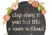 Wall Art / Ideas for decorating walls at home / by Laura {Peace but not Quiet}