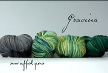 Snow Capped Yarns / Hand-dyed yarn capturing the  colors of Coastal Alaska and the landscape that inspires them.