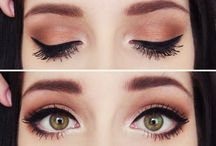 Makeup / I love fancy makeup looks, but I'm just too lazy to do that every morning :P
