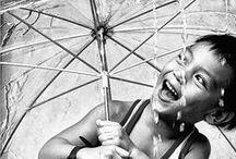 "Rain / ""I always like walking in the rain, so no one can see me crying."" ― Charles Chaplin"