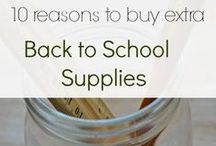 Back to School / Tips, products, and other stuff that's cool for school. / by Laura {Peace but not Quiet}