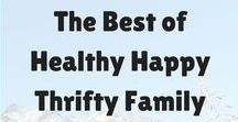 Healthy Happy Thrifty Family / Posts from my blog www.healthyhappythriftyfamily.com - DIY, Family, Parenting, Kid Crafts, Recipes and More! Healthy Parenting on a Budget!