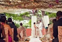 Ceremony Set Up / Destination wedding ceremony ideas