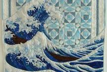 My Colors - the ocean (blue green, teal, pale green)