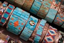 Jewelry, Jewelry, Jewelry / Rings, necklaces, bracelets, earrings. Leather cuffs, stacked bracelets, stacked rings, statement necklaces, cuffs, charms, turquoise, gold, silver, platinum, DIY jewelry ideas,