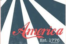 America, Home Sweet Home / USA Patriotic Inspiration. Great foods, crafts, decorating and celebrating ideas for July 4th, Flag Day, Veteran's Day, Memorial Day. Home decor. DIY Art. Typography. Music. Printables. U.S. military, Navy, Air Force, Army, Marines, Coast Guard. Flag, red, white and blue. Fireworks, sparklers, stars and stripes. Party Food. Independence Day.