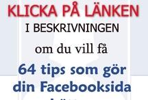 Marknadsföring & Sociala Medier_svenska / Vil du lära dig marknadsföring och sociala medier? Följ länkarna via bilder och du kommer på sidorna som inehåller mycket kunskap om det.