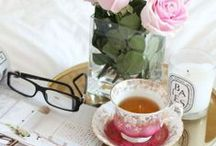 Tea Time / Our favorite time of day