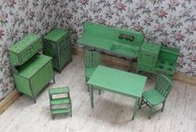 dolls, paper dolls, houses, and miniatures / by Karen Masseau