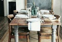 Dining & Entertaining / Beautiful tablescapes to inspire entertaining over good conversation.