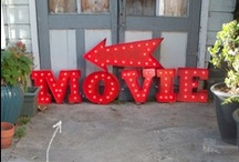 Movie Night / Whether you take it outside or create one-of-kind indoor experience, check out these ideas.