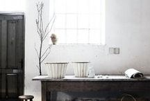 Rustic Interiors / Like you favorite worn-in pieces, these interiors are elegant with a touch of the past.