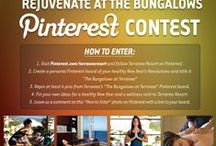 """The Bungalows at Terranea / Thank you for entering! Our WINNER (Holly V.) has been announced! Rejuvenate at The Bungalows Pinterest Contest. Pin your way to health and wellness in the new year with Terranea Resort's 2014 """"Rejuvenate at the Bungalows"""" Pinterest contest. If selected, one lucky pinner will win their very own 5 night retreat to The Bungalows at Terranea. Happy pinning!  / by Terranea Resort"""