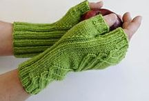 Knitting ♠ Mitts