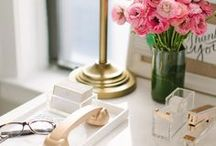 Chic Office / Chic office space for chic ladies