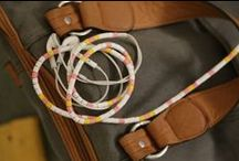 """www.mybeadsusa.com / Use My Beads to personalized your headphone and charger cables. They are pre-cut to easily slip on cables in any pattern you desire. My beads keep cords from getting tangled too! Life changer. Never wonder again, """"Are these my headphones? Is this my charger?"""" Hooray! Great for gift bags, birthday party activities, and craft days. There is also a great fundraiser program available. Buy My Beads at www.beadsusa.com."""