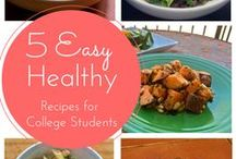 Health: Food and Fitness / Healthy foods and fitness ideas!