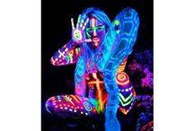 Rainbow Glow Party