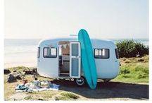 Seawashed caravan