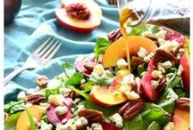 Summer Salads / Eating the rainbow of fruits & vegetables