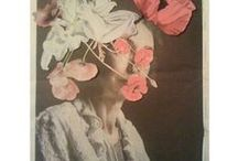 collage moodboards / all forms of collage: paper collage, wall collage...