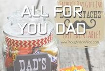 Dads - Gifts & Inspiration / Fathers, Dads, and Grandpas too - we celebrate the dudes we love with gift ideas, recipes, and musings on being our favorite guys!