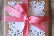 Gifts & Their Wrappings / by Ronda Mitchell