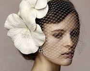 Wedding hair glamour