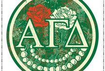 Alpha Gamma Delta things / by Kylie Toner