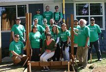 Community / How we give back to the community in which we live and work