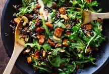 Salads, Sides and Soups / soups, sides & salads / by Karen Slate