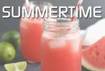 Summertime / Awesome recipes and projects to help you beat the summer heat!  / by Psychobaby